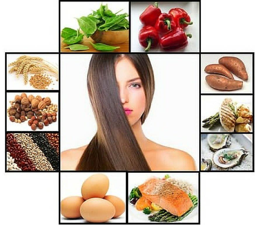 Resultado de imagem para dieta e cabelo